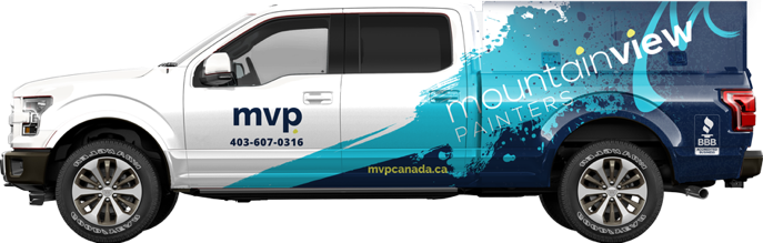 MVP working truck with MVP paint