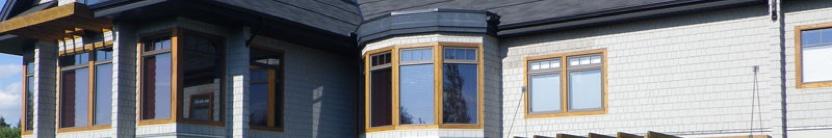 painted wood siding