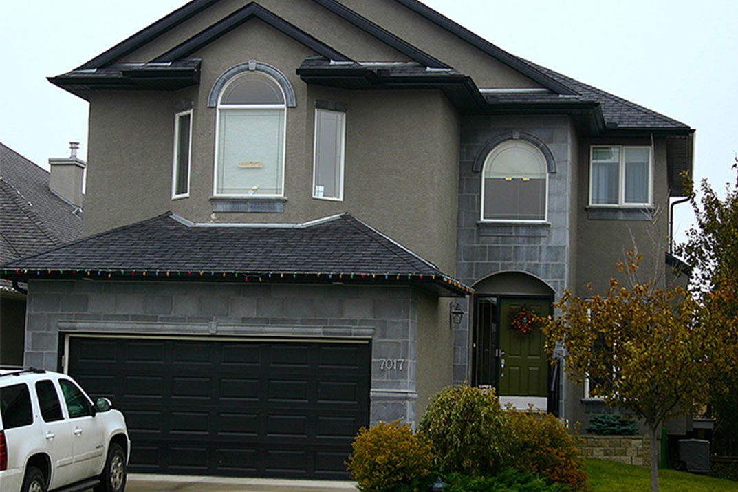 Exterior painted by MVP