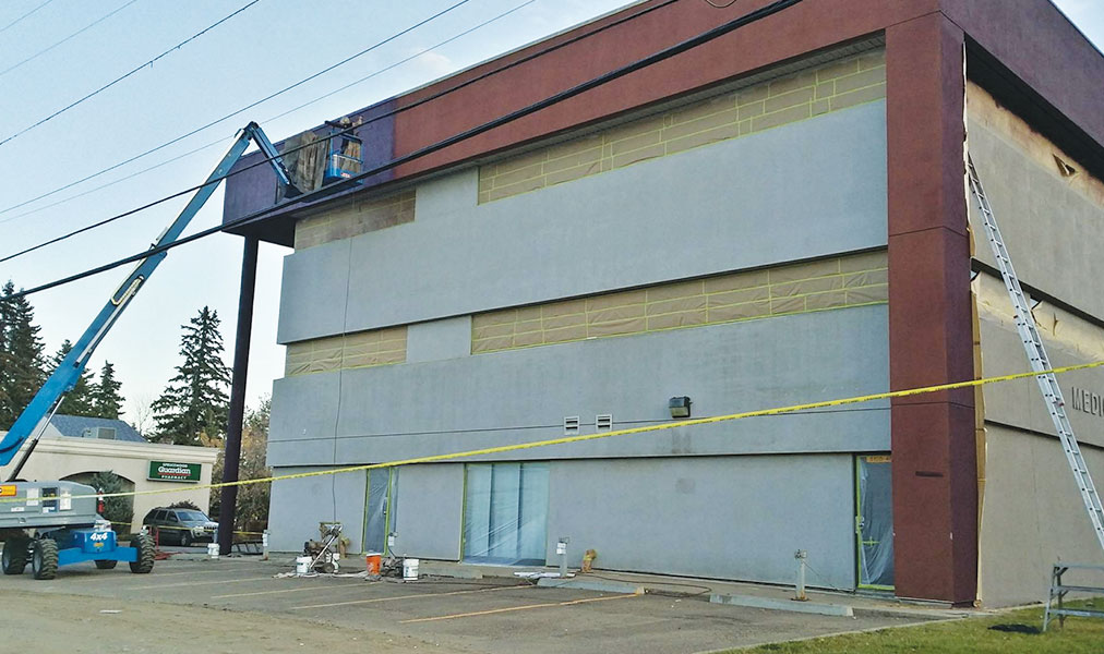 MVP Commercial Exterior Painting Prep