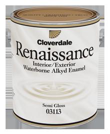 Cloverdale's Renaissance Enamel Paint Bucket
