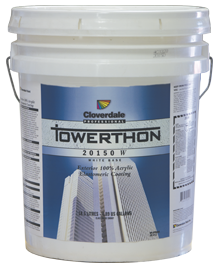 Cloverdale's Towerthon Elastomeric Paint Bucket