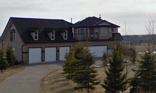 House Before Stucco Coating